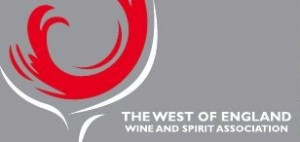 The original logo of the West of England Wine and Spirits Association